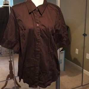 💕 5 for $25 💕 Lane Bryant Button-Down 0413